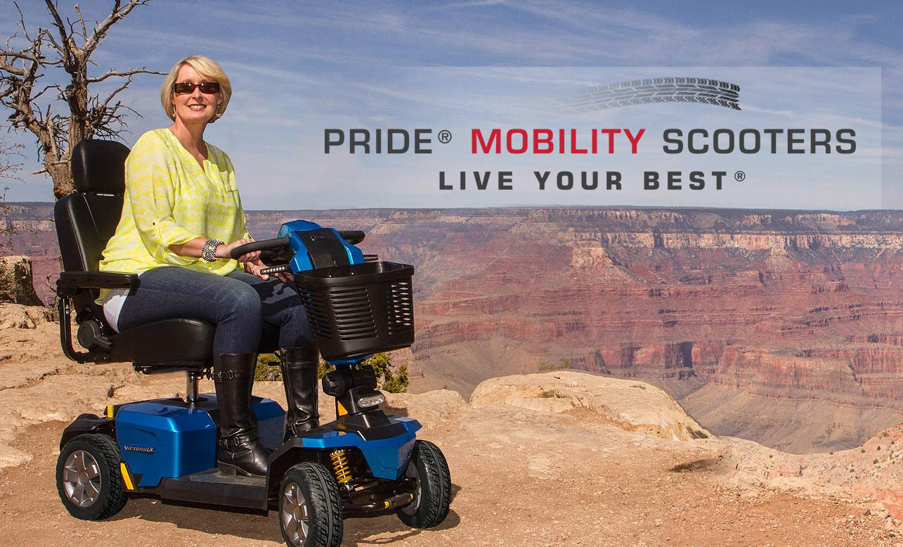 PRIDE 4 WHEEL MOBILITY SCOOTER PHOENIX AZ SENIOR CART