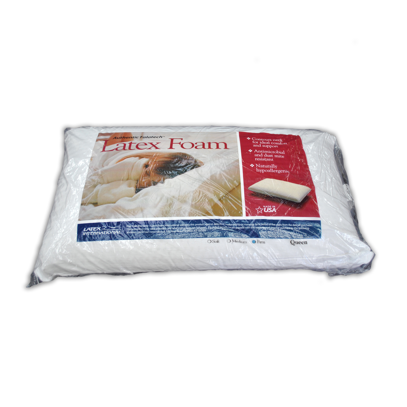 Latex Foam Pillow firm medium