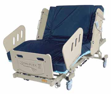 burkebariatric triflex II  bariatric bed phoenix az scottsdale sun city tempe mesa are glendale chandler peoria gilbert chandler surprise   heavy duty large extra wide Electric power adjustable medical mattress 3-motor  low Electric reverse trendellenburg
