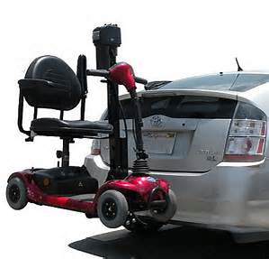 electric scooter lift Phoenix car auto suv rv hatchback outside exterior trailer hitch class 3 trilift
